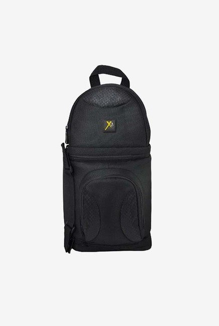 Xit XTBPS Deluxe Sling Style Shoulder Bag for Camera (Black)