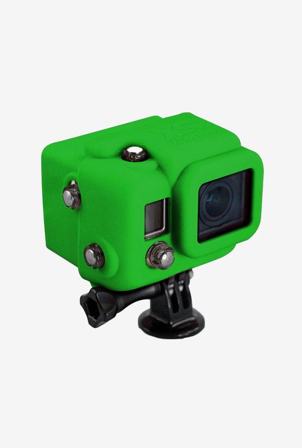 Xs Commerce Hooded Silicone Cover for Gopro Hero3 (Green)