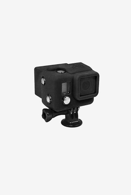 Series Hooded Silicone Cover for Gopro 3+/4 (Black)