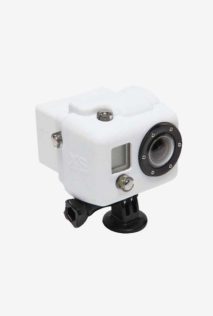 Series Hooded Silicone Cover for Gopro 3 (White)