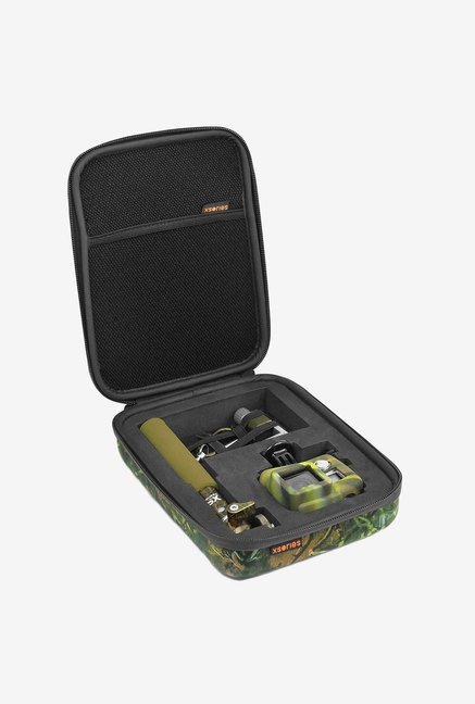 XSories Small Capsule Gopro Case with Pre-Cut Foam (Camo)