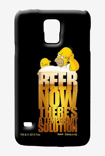 Simpsons The Beer Solution Case for Samsung S5