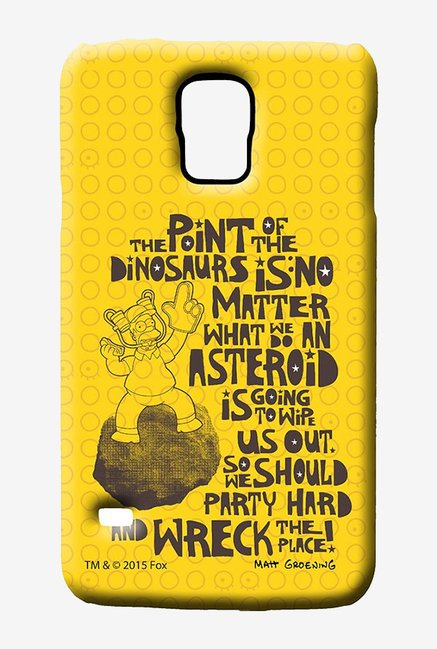Simpsons The Dinosaur Theory Case for Samsung S5