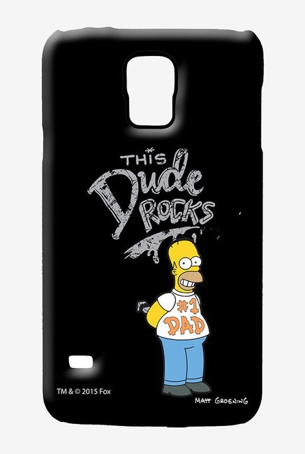 Simpsons This Dude Rocks Case for Samsung S5