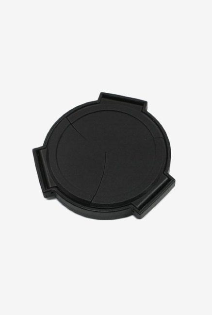 Auto Self Retaining Open Close Lens Cap (Black)