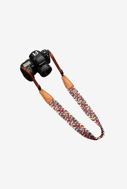 Cam-in cam8782-1 Colorful Shoulder Neck Strap (Dark Brown)