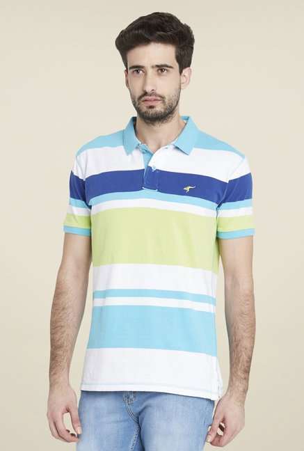 Globus Multicolor Striped Short Sleeve T Shirt