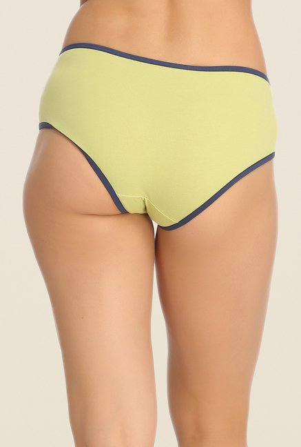 Clovia Purple, Lime & Red Solid Hipster Panty (Pack of 3)