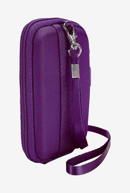 Case Logic QBP-301 Point And Shoot Camera Case (Purple)