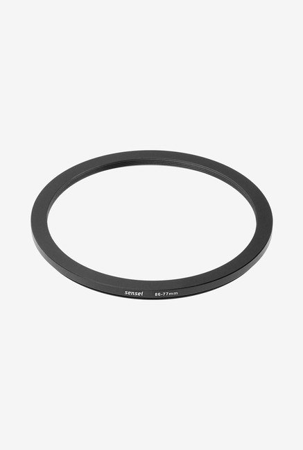 Sensei SDR8677 86-77mm Aluminium Step-Down Ring (Black)