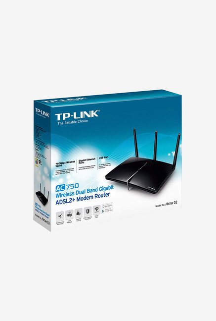TP-LINK Archer D2 Wireless Dual Band Gigabit Modem Router
