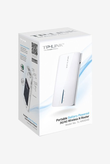 TP-LINK TL-MR3040 3G/4G Wireless N Router (White)