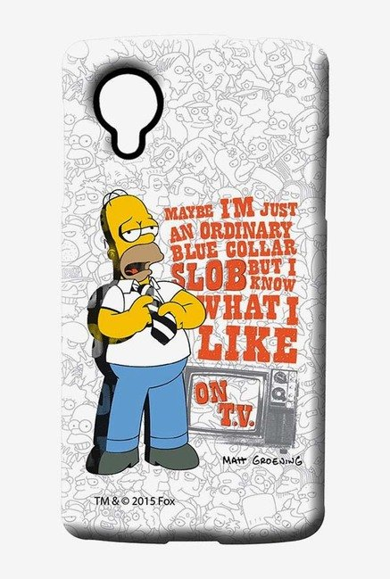Simpsons Blue Collar Slob Case for LG Nexus 5