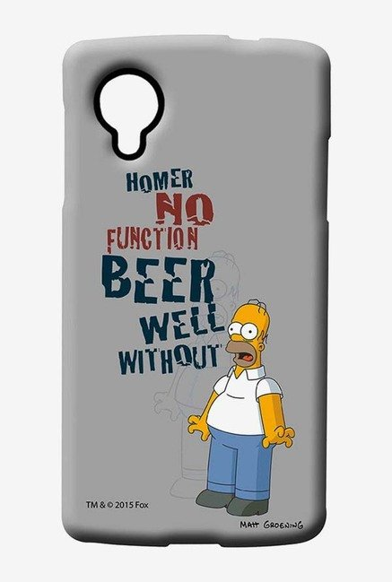 Simpsons Homers Poison Case for LG Nexus 5