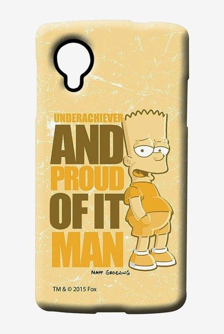 Simpsons Proud Underachiever Case for LG Nexus 5