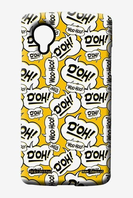 Simpsons Random Expressions Case for LG Nexus 5