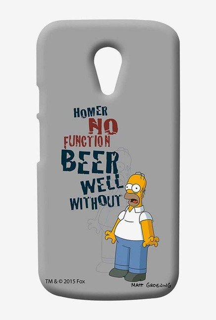 Simpsons Homers Poison Case for Moto G2