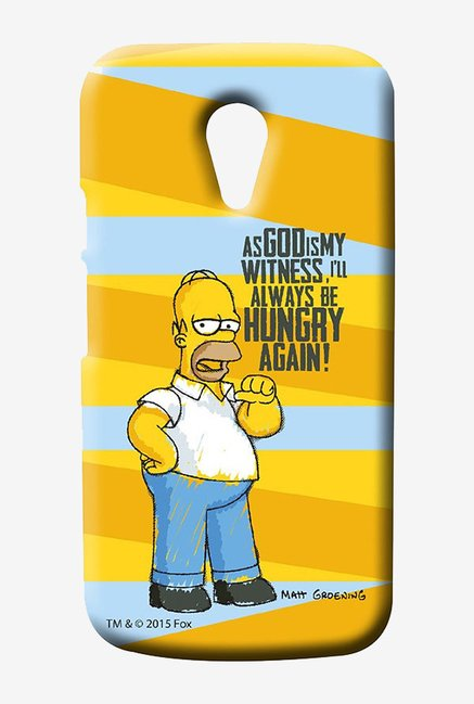 Simpsons Hungry Homer Case for Moto G2