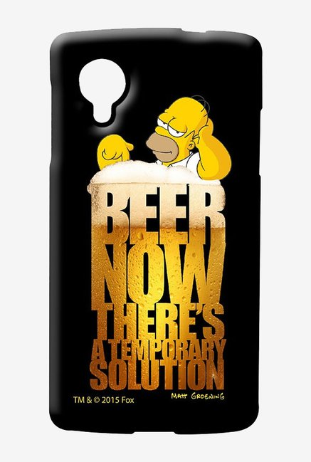 Simpsons The Beer Solution Case for LG Nexus 5