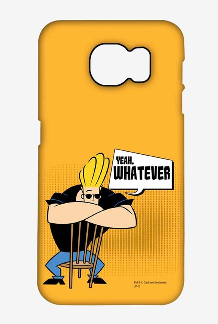 Johnny Bravo Yeah Whatever Case for Samsung S6