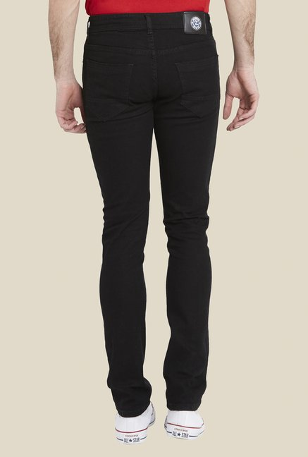 Globus Black Raw Denim Jeans