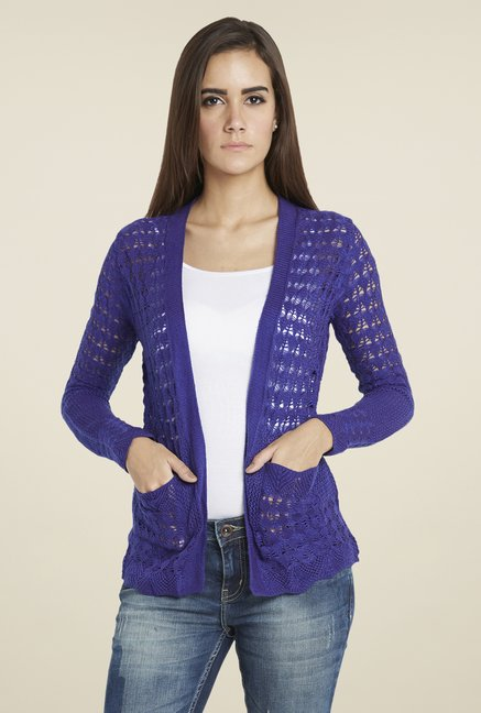 Globus Purple Lace Shrug
