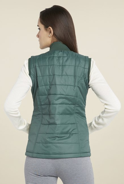Globus Green Quilted Jacket