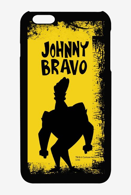 Johnny Bravo Yellow Grunge Case for iPhone 6s Plus