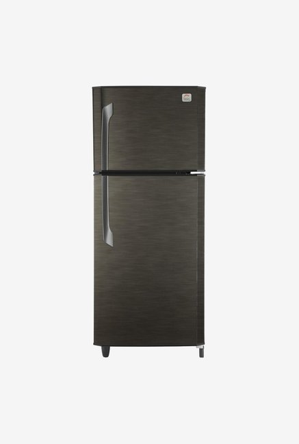 Godrej 231L Frost Free Double Door Refrigerator  Silver Strokes, RT EON 231 C 2.4
