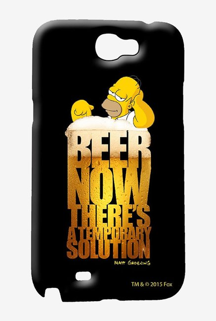Simpsons The Beer Solution Case for Samsung Note 2