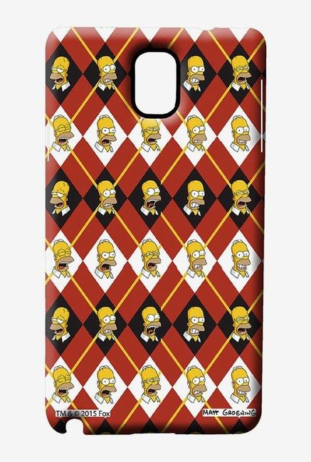 Simpsons Homer Moods Case for Samsung Note 3