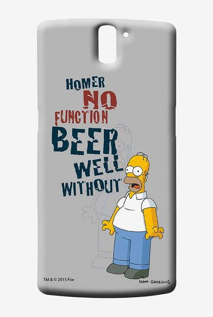 Simpsons Homers Poison Case for Oneplus One
