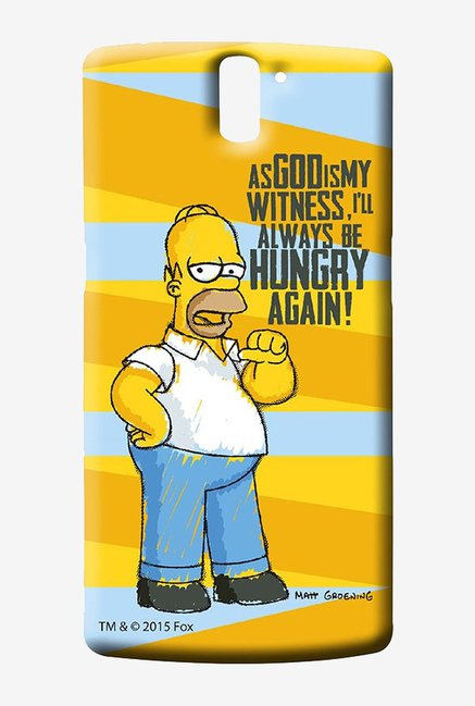 Simpsons Hungry Homer Case for Oneplus One