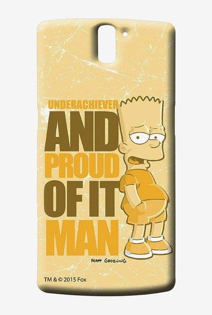 Simpsons Proud Underachiever Case for Oneplus One