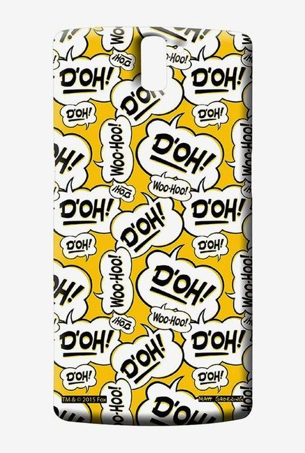 Simpsons Random Expressions Case for Oneplus One