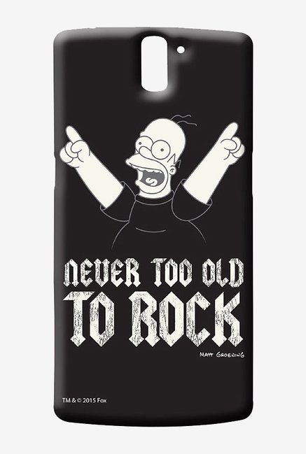 Simpsons Rockstar Homer Case for Oneplus One