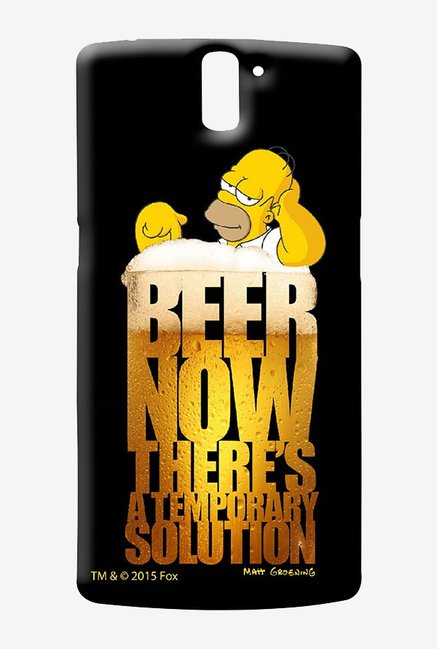 Simpsons The Beer Solution Case for Oneplus One