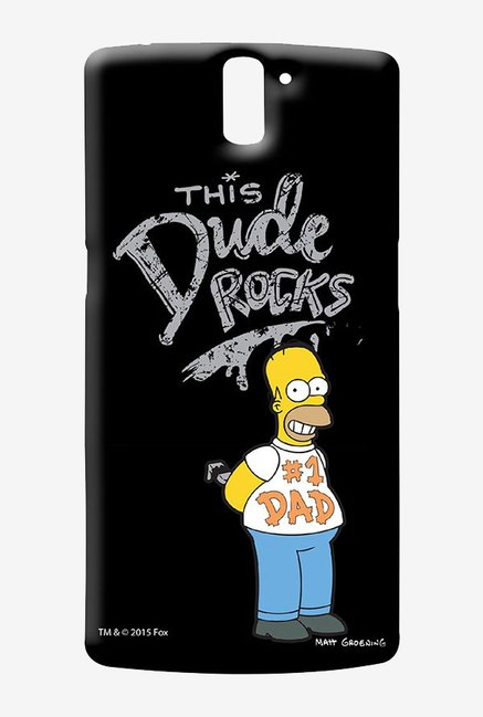 Simpsons This Dude Rocks Case for Oneplus One
