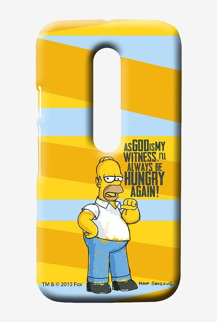 Simpsons Hungry Homer Case for Moto G3