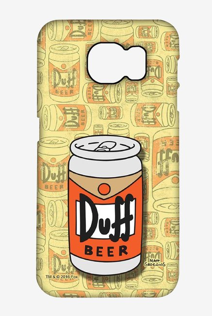 Simpsons Duff Beer Case for Samsung S6