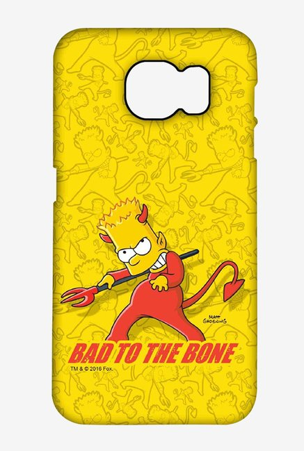 Simpsons Bad To The Bone Case for Samsung S6