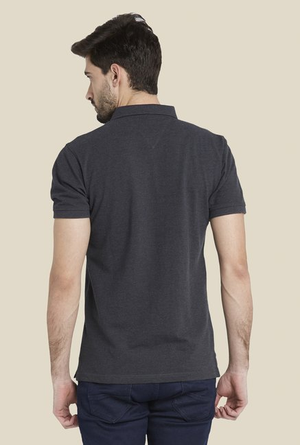 Globus Charcoal Short Sleeve T Shirt
