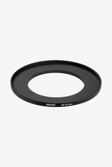 Sensei SUR4667 46-67mm Aluminium Step-Up Ring (Black)