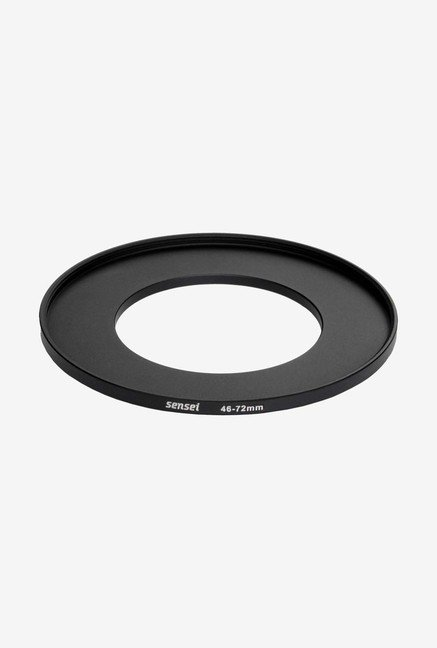 Sensei SUR4672 46-72mm Aluminium Step-Up Ring (Black)