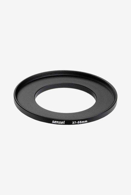 Sensei SUR3755 37-55mm Aluminium Step-Up Ring (Black)
