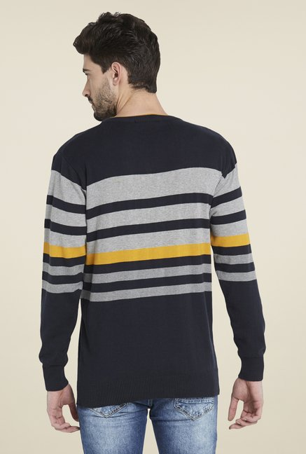 Globus Navy Striped Pullover