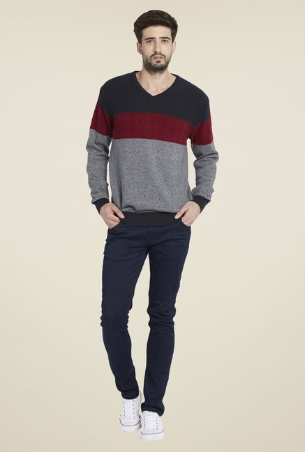Globus Multicolor Striped Pullover