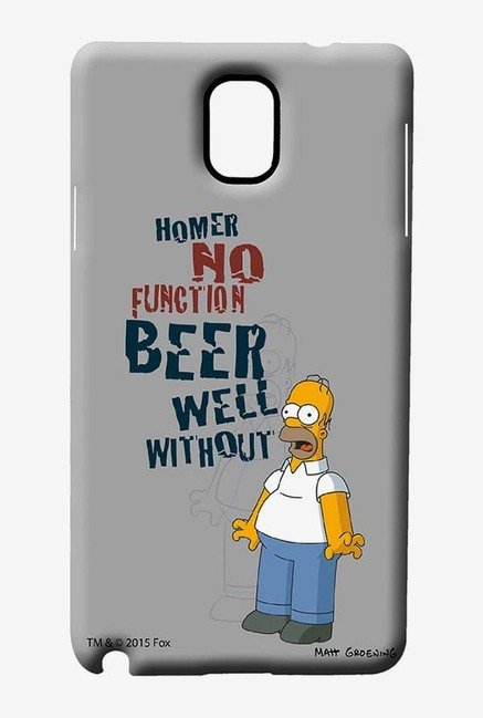 Simpsons Homers Poison Case for Samsung Note 3