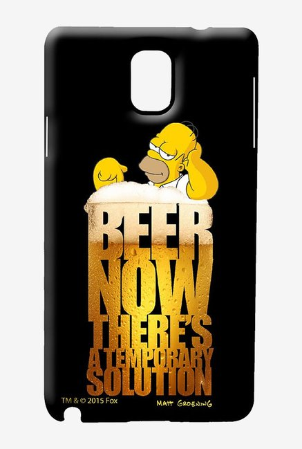 Simpsons The Beer Solution Case for Samsung Note 3