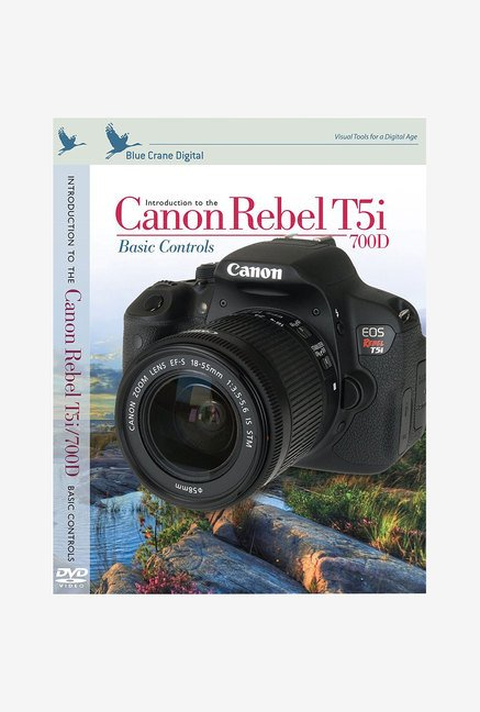 Blue Crane Digital Canon Rebel T5I InBrief Laminated Card